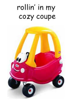 Thumb cozy coupe