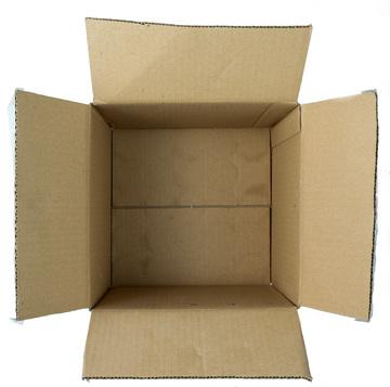 Thumb cardboard box