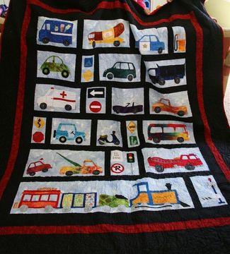 Thumb car quilt