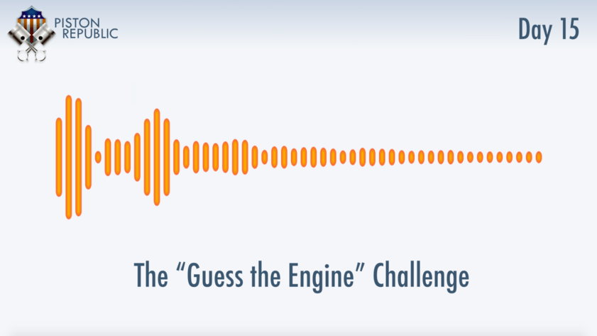 Accompanying image for The Guess The Engine Challenge / Day 15