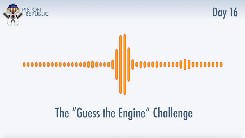 Accompanying image for The Guess The Engine Challenge / Day 16