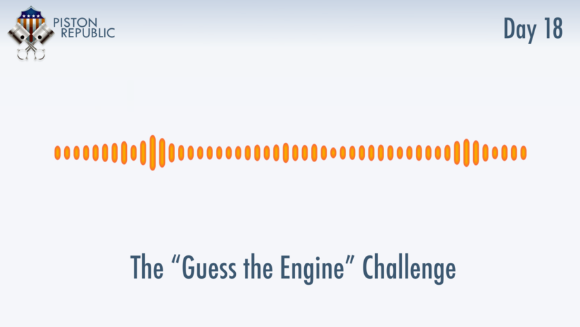 Accompanying image for The Guess The Engine Challenge / Day 18