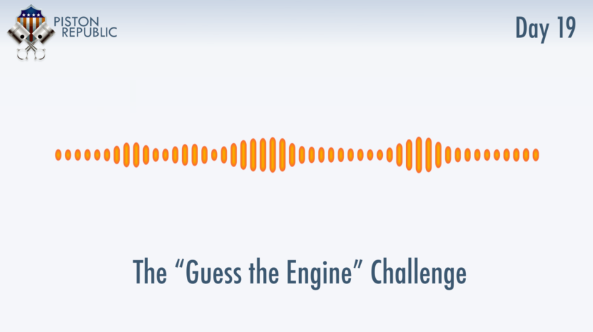 Accompanying image for The Guess The Engine Challenge / Day 19