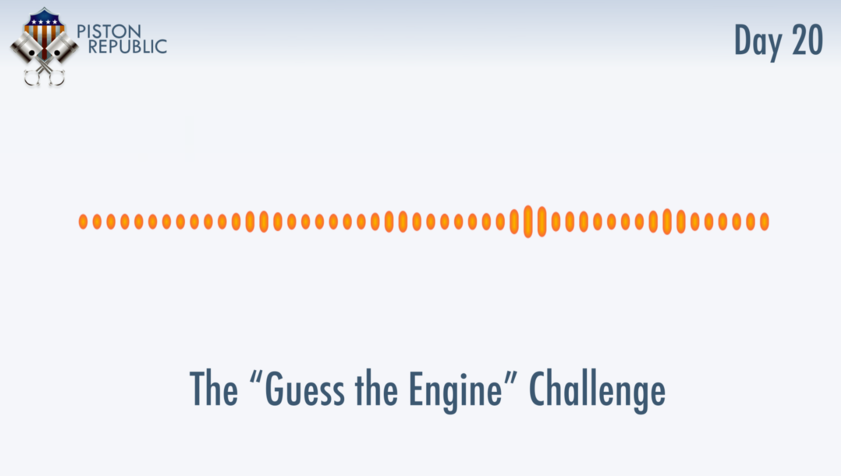 Accompanying image for The Guess The Engine Challenge / Day 20