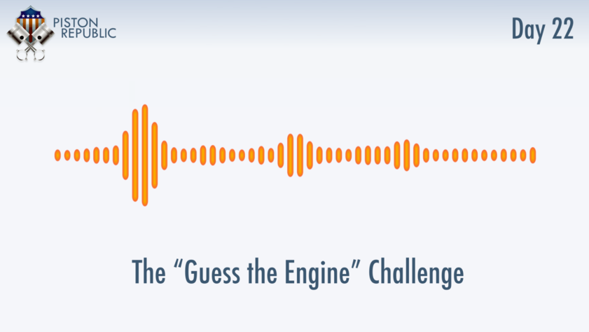 Accompanying image for The Guess The Engine Challenge / Day 22