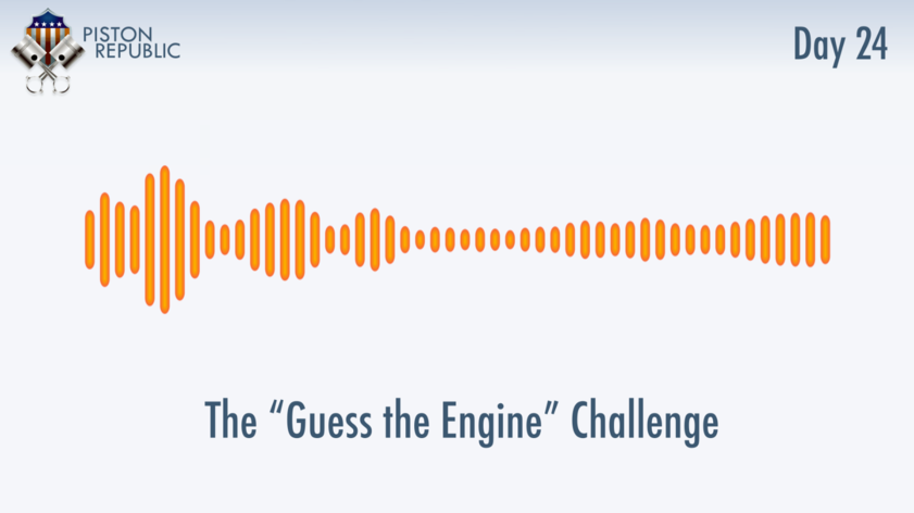 Accompanying image for The Guess The Engine Challenge / Day 24