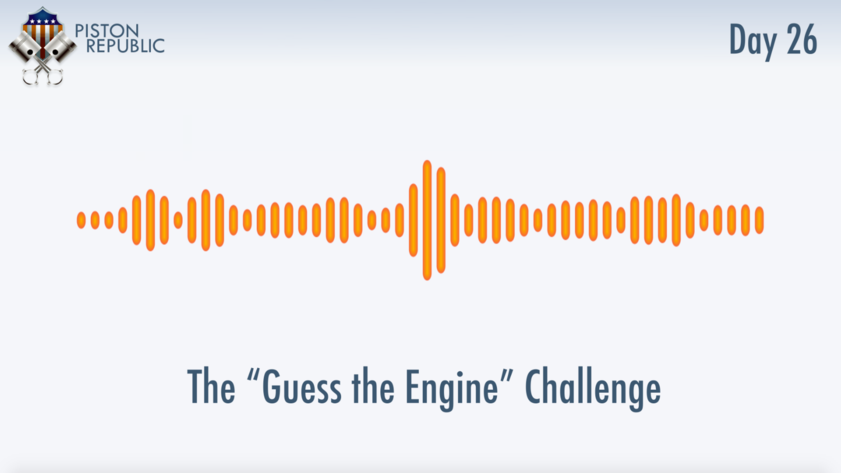 Accompanying image for The Guess The Engine Challenge / Day 26