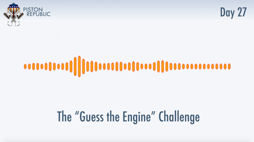 Accompanying image for The Guess The Engine Challenge / Day 27