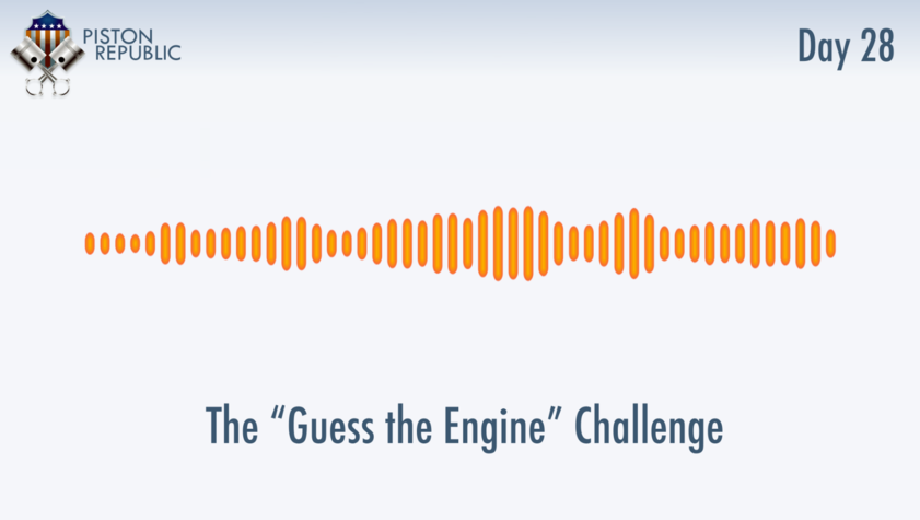 Accompanying image for The Guess The Engine Challenge / Day 28