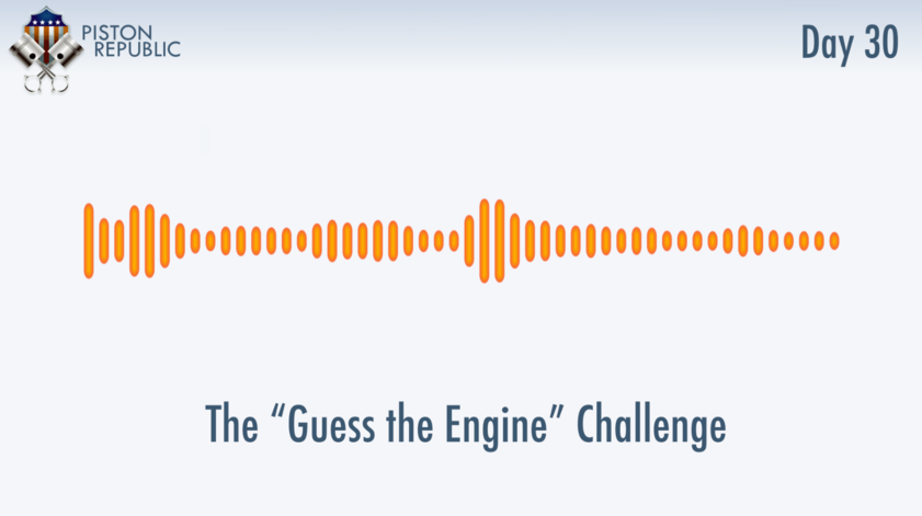 Accompanying image for The Guess The Engine Challenge / Day 30