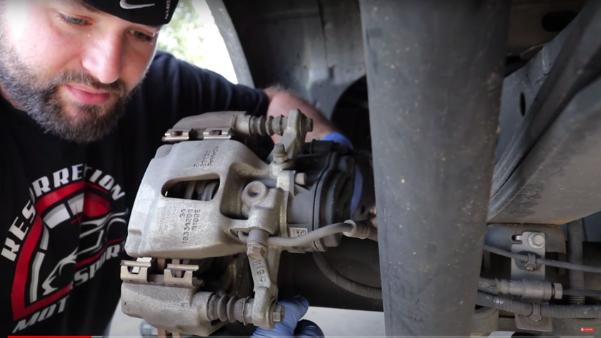 Accompanying image for How to Replace Rear Brakes and Shocks on your F-150