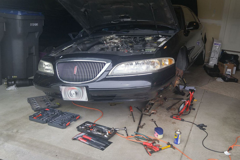 Accompanying image for Build Blog: Replacing Air Struts on a 1998 Lincoln Mark VIII