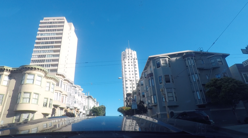 Accompanying image for San Francisco in a Mustang makes you legendary