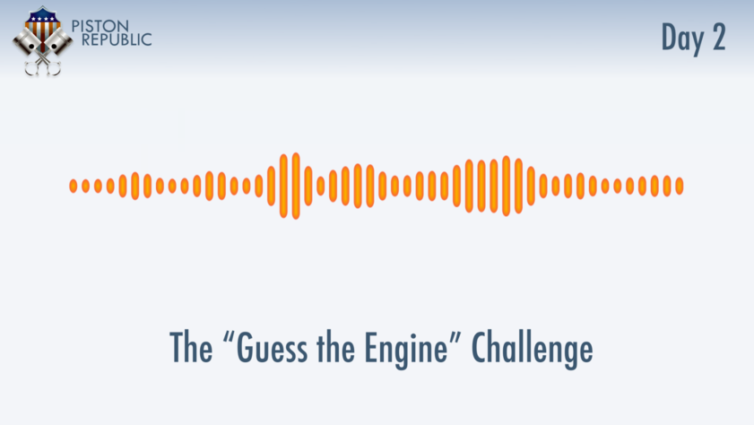 Accompanying image for The Guess The Engine Challenge / Day 2