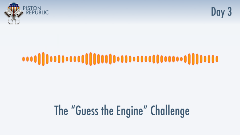 Accompanying image for The Guess The Engine Challenge / Day 3