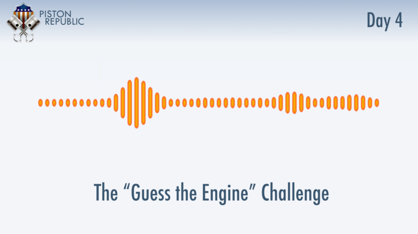 Accompanying image for The Guess The Engine Challenge / Day 4