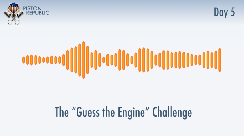 Accompanying image for The Guess The Engine Challenge / Day 5