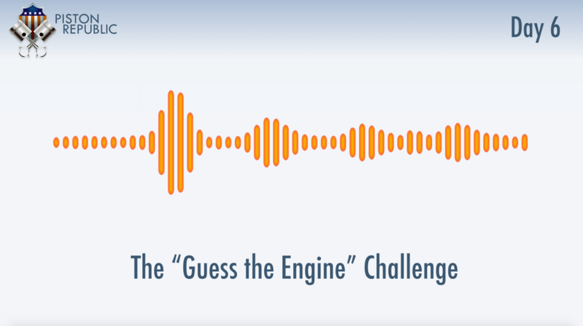 Accompanying image for The Guess The Engine Challenge / Day 6