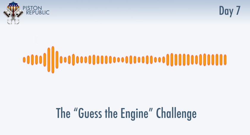 Accompanying image for The Guess The Engine Challenge / Day 7