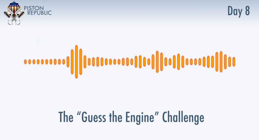 Accompanying image for The Guess The Engine Challenge / Day 8