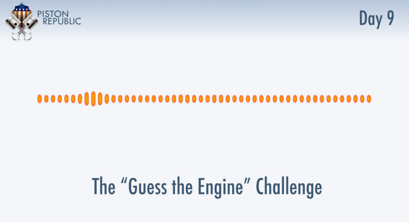 Accompanying image for The Guess The Engine Challenge / Day 9