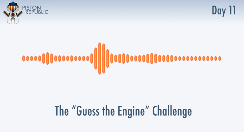 Accompanying image for The Guess The Engine Challenge / Day 11